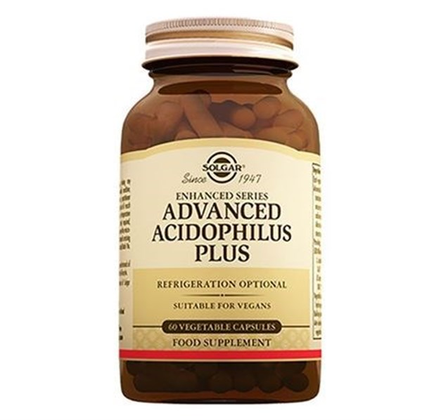 Solgar Advanced Acidophilus Plus 60 Kapsül
