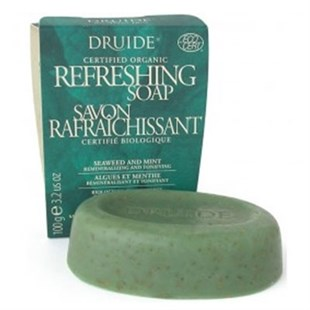 Druide Refreshing Bar Soap (Seaweed & Mint) - Sabun