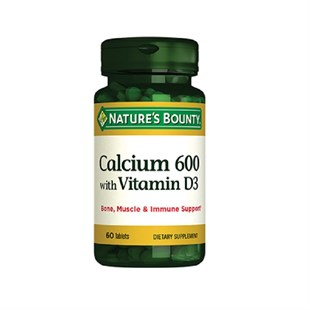 Nature´s Bounty Calcium 600 With Vitamin D3 60 Tablet