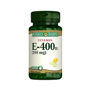Nature´s Bounty Vitamin E-400 IU 50 Softjel
