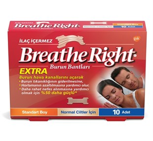 Breathe Right Extra Burun Bandı 10´Lu