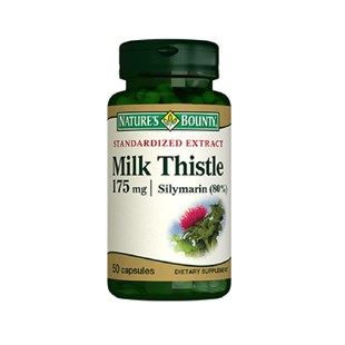 Nature´s Bounty Milk Thistle 175 mg 50 Kapsül
