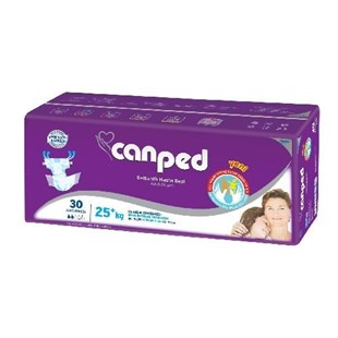 Canped Extra Small 25+Kg 30 Adet