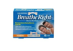 Breathe Right Burun Bandı (İlaçsız Normal Boy)