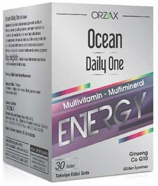 Ocean Daily One Energy 30 Tablet - Takviye Edici Gıda