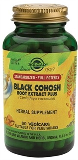 Solgar Black Cohosh Root Extract 60 Kapsül