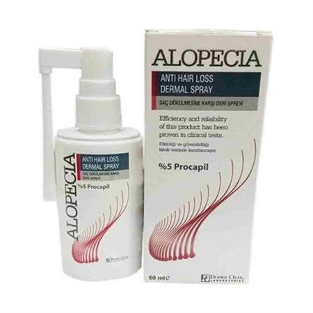 Alopecia Anti Hair Loss Serum Dermal Spray 60 Ml - %5 Procapil Saç Serumu