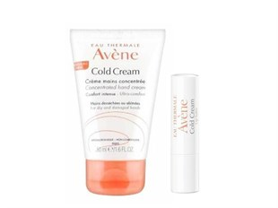 Avene Eau Thermale Cold Cream + Lip Balm Hediye