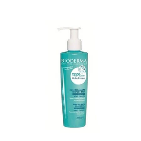Bioderma Abcderm Relaxing Massage Oil