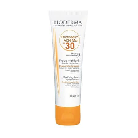 Bioderma Photoderm Akn Mat Spf 30 (Uva13) 40 Ml