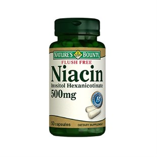 Nature´s Bounty Flush Free Niacin 500 mg 50 Kapsül