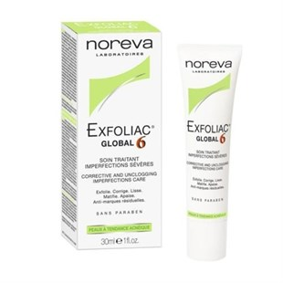 Noreva Exfoliac Global 6 Corrective And Unclogging İmperfections Care 30Ml
