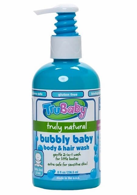 Trukid Trubaby Bubbly Baby Body and Hair Wash 236,5 ml